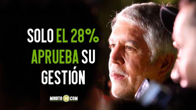 Peñalosa sigue siendo el alcalde con mayor desaprobación