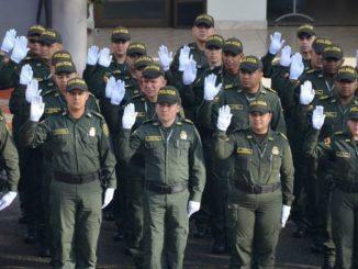 Policía Antioquia se unió a la celebración del Día Nacional de la lucha Contra la Corrupción