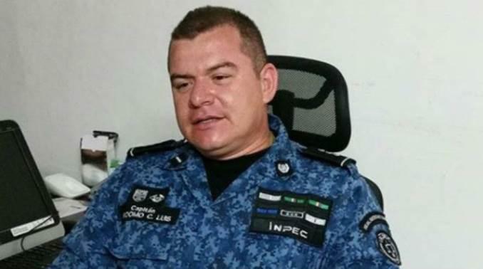 El mayor Luis Francisco Perdomp