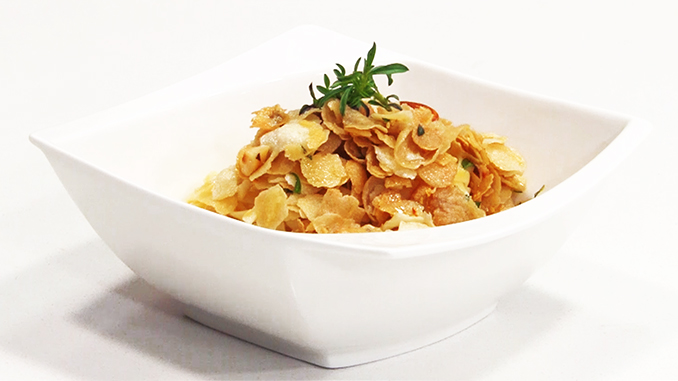pasta y Pangriata plato