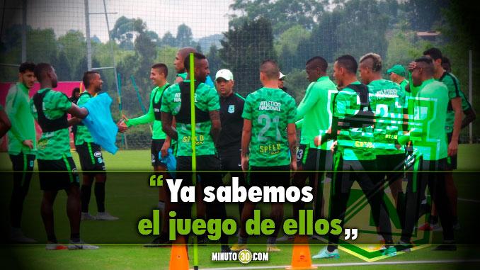 El equipo esta tranquilo y muy motivado Deiver Machado