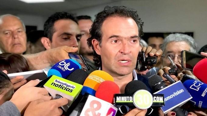 Federico Gutierrez Alcalde de Medellin 1
