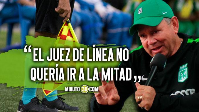 Herrera conto como vivio los ultimos minutos de la final ante Once Caldas