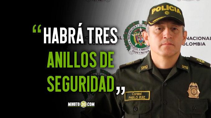 Policia Metropolitana del Valle de Aburra entrego detalles del dispositivo de seguridad1