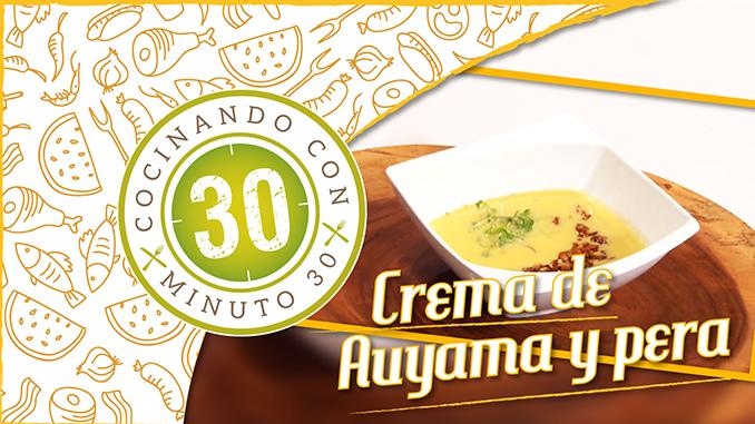 Portada Crema de auyama y peras 678