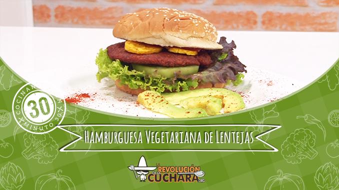 Hamburguesa Vegetariana de lenteja 678