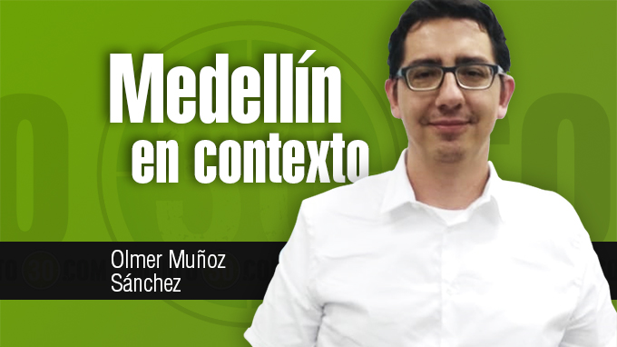 Olmer Muñoz Sánchez Medellín en contexto
