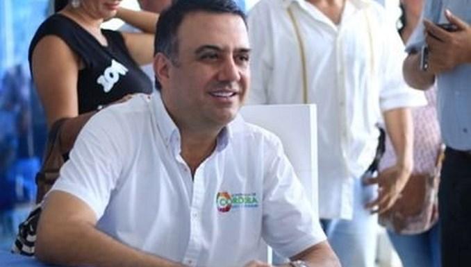 El gobernador de Córdoba, Edwin Besaile