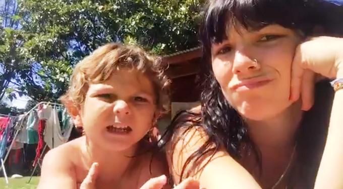 Ián y Bárbara Lorenzo/ Tomada de Facebook: Bárbara Lorenzo