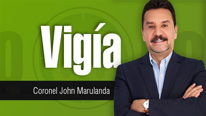 Coronel John Marulanda Vigía