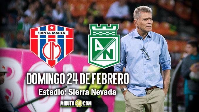 Atlético Nacional enfrentará este domingo a las 3 30 p.m. a Unión  Magdalena 7665955d66443