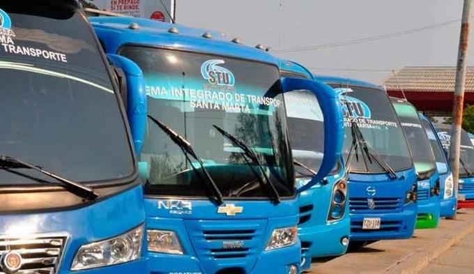 buses de santa marta