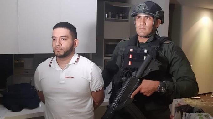 Alias Chicho capturado por la Policia