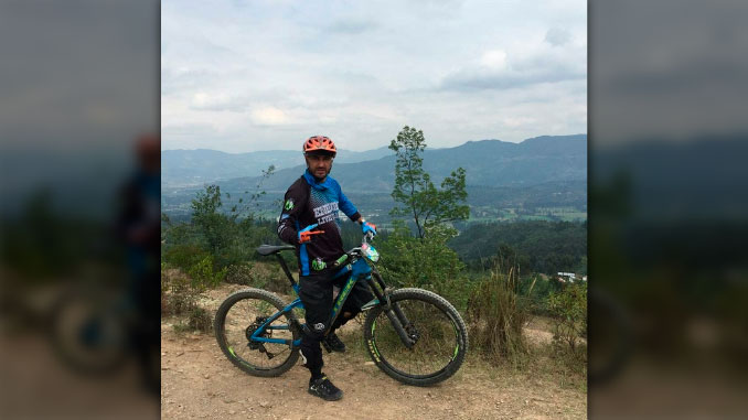 Santiago Cardona deportista vitima de hurto