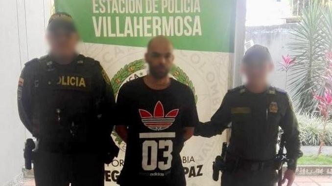 capturado por porte ilegal de armas