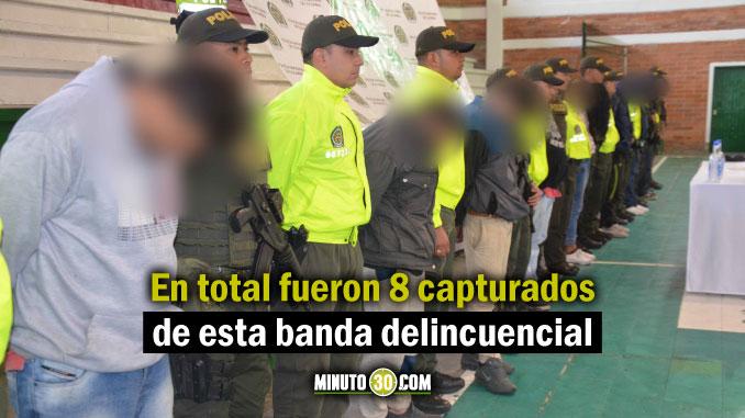 capturados de banda delicuncial