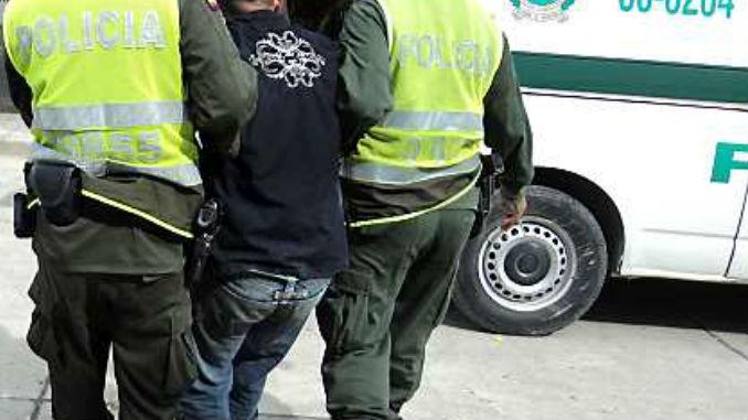 Capturado por la policia