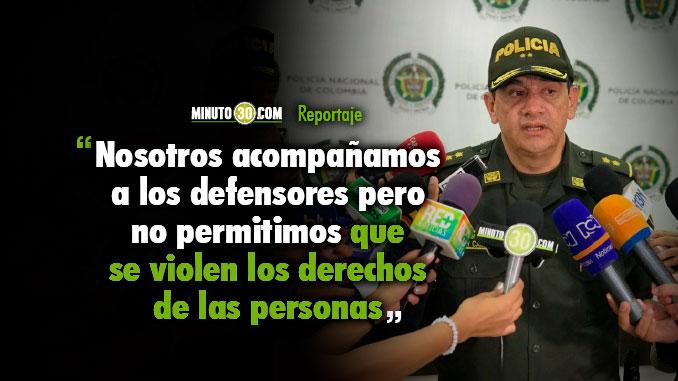 Policía se pronuncia sobre la carta de algunas organizaciones defensoras de derechos humanos