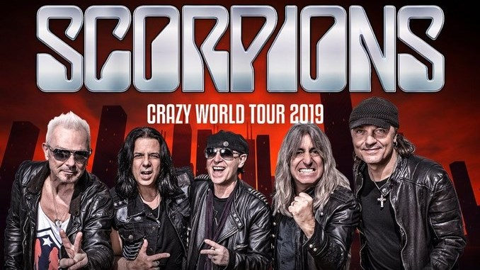 Image result for Scorpions 2019 Crazy World Tour photos