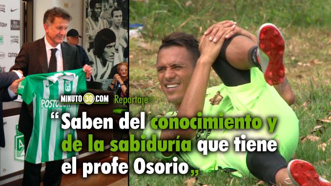 Aldo opino sobre regreso de Osorio a Nacional y conto lo que le han dicho sus excompaneros al respecto
