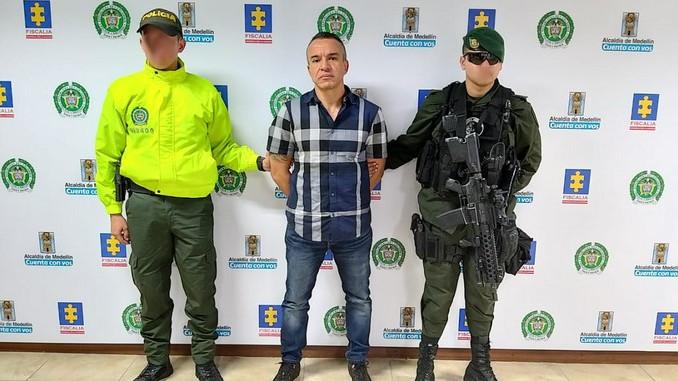 Alias Guason capturado cabecilla de La Terraza en Medellin5