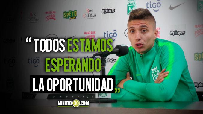 Juan Pablo Ramirez siente que Osorio reservo jugadores para partido ante Santa Fe
