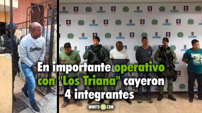 4 CAPTURADOS DEL GRUPO DELINCUENCIAL ORGANIZADO 'LOS TRIANA'. ENTRE ELLOS EL CABECILLA FINANCIERO