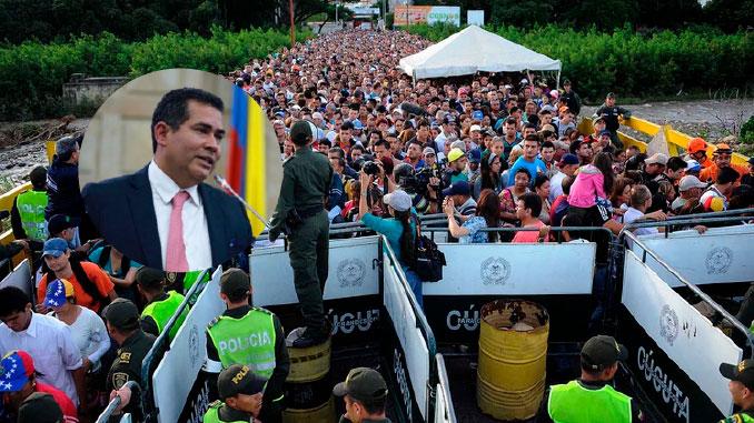Expresidente de la Camara y venezolanos