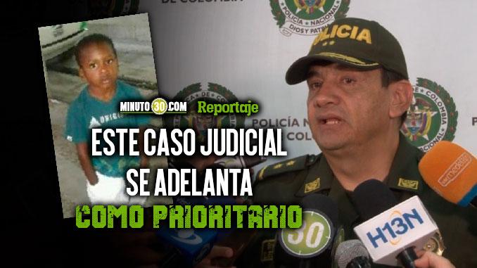 Fiscalia y Policia avanzan en la investigacion del asesinato del nino Marlon Cuesta