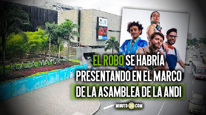 Grupo Puerto Candelaria denuncio que fueron victimas de millonario robo en Plaza Mayor en pleno marco de ANDI