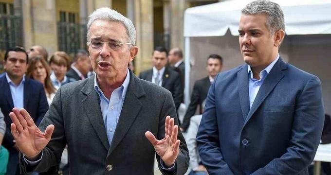Ivan Duque y Alvaro Uribe Velez