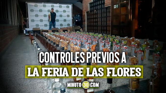 Licor adulterado incautado en Medellin