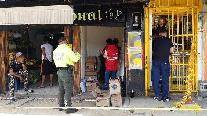 Licor adulterado incautado en el centro de Medellin2
