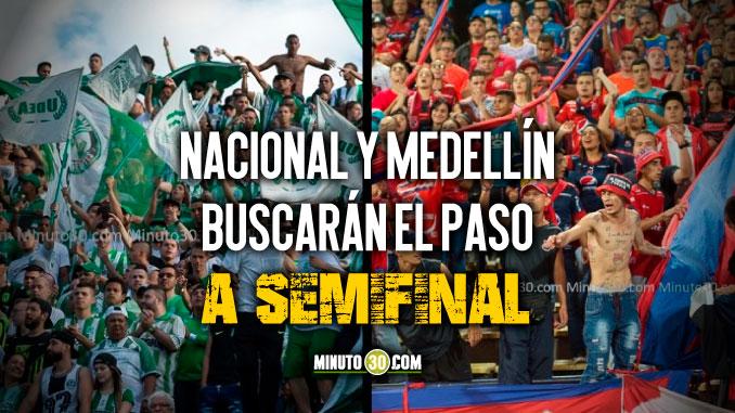Lista la programacion de partido de ida de cuartos de final de la Copa Aguila