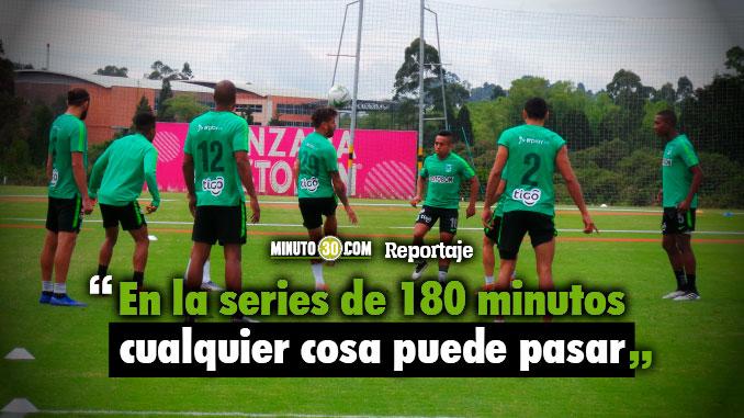 Nacional viajo a Bogota donde pretende aprovechar necesidad de Santa Fe para sentenciar serie de Copa Aguila