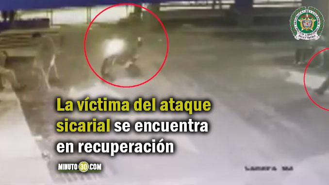 Sicario fue dado de baja por la Policía en Belén tras balear a un ciudadano en vía pública