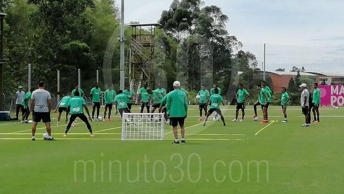 Atlético Nacional entre en Guarne