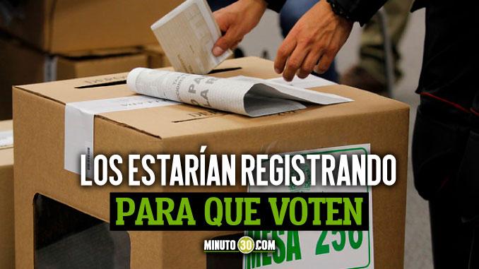 venezolanos votando en Colombia