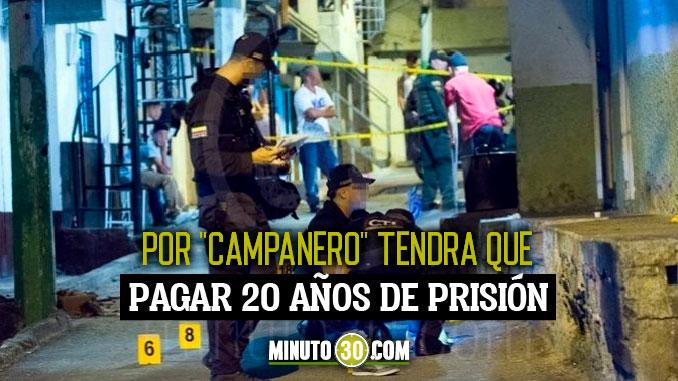 Condenado a mas de 20 anos de prisión por ataque armado contra lideres comunales de Medellin