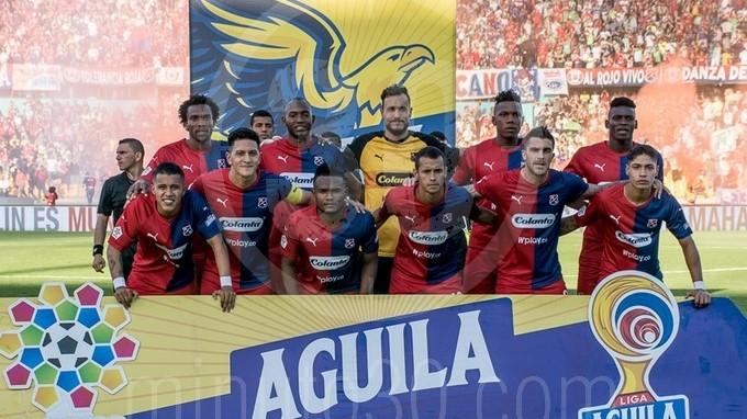 Independiente Medellin formado para la foto subida 26 09 2019