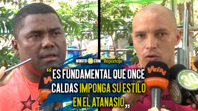 Once Caldas sabe que toca salir a atacar al Medellin en el juego de Copa aguila 1