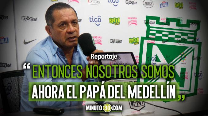 Pompilio Paez no siente que haya paternidad de Tolima sobre Nacional
