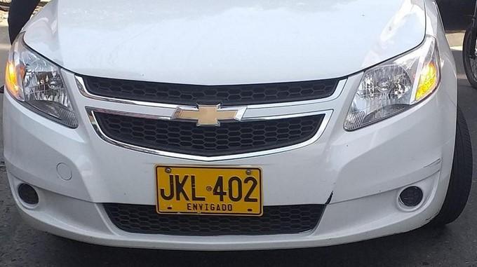 carro recuperado placas jkl itagui