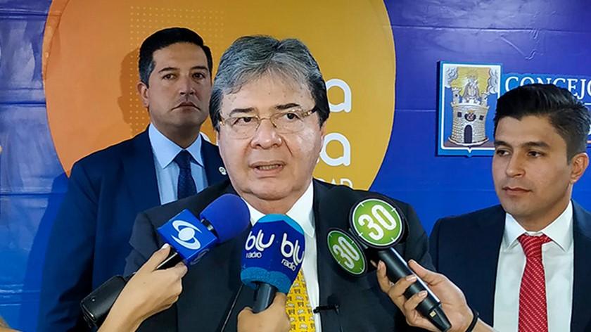 CARLOS HOLMES TRUJILLO CANCILLER DE COLOMBIA