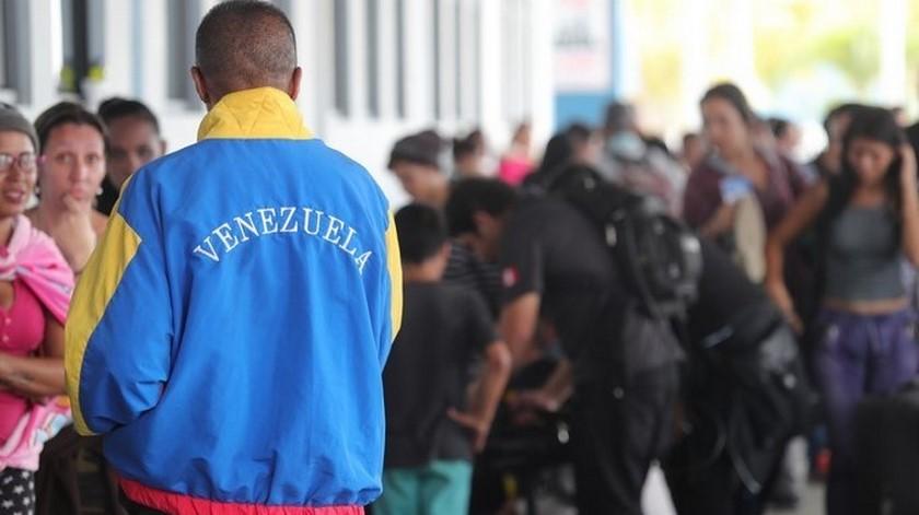 Imagen ilustrativa de migrantes venezolanos en Colombia septiembre de 2019