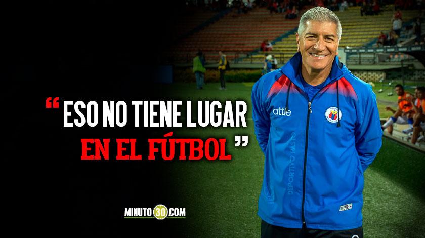 Octavio Zambrano les pidio disculpas a los hinchas de Independiente Medellin