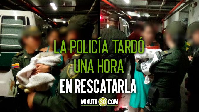Raptaron a una bebe venezolana de 25 dias de nacida en el Centro de Medellin