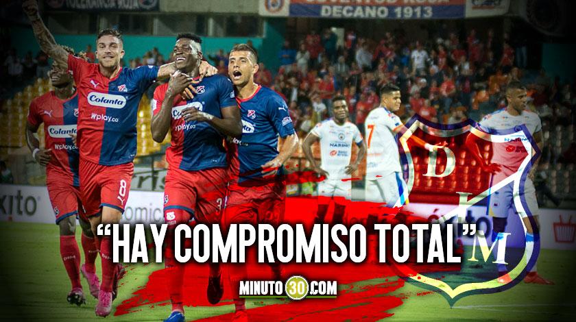 Seguira Medellin afrontando la Liga y la Copa con el mismo equipo Bobadilla responde 1