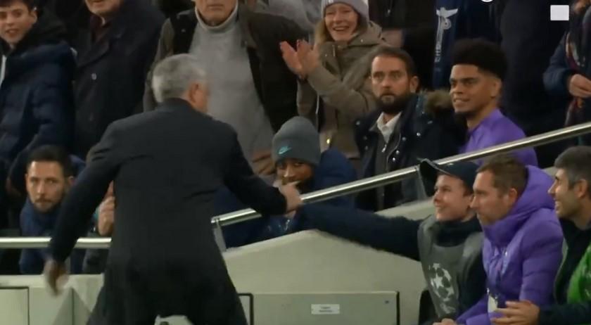 27 11 19 recogebolas mourinho tottenham