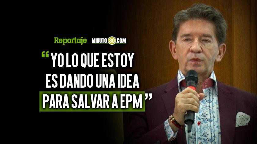 El Gobernador Luis Perez explico su intencion con la venta de Hidroituango